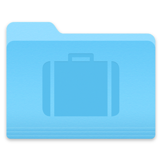 Yosemite Briefcase Folder Icon