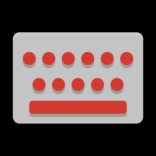 Notification Keyboard Brightness Icon Papirus Status Iconset