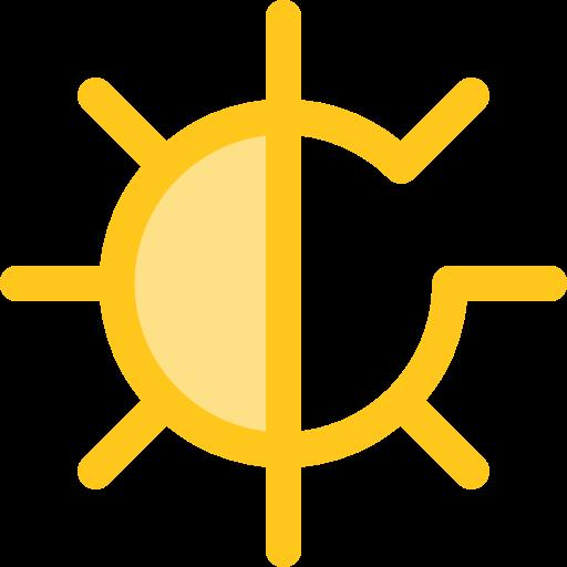 Brightness, Ui, Illumination, Star, Sun, Weather, Light Icon