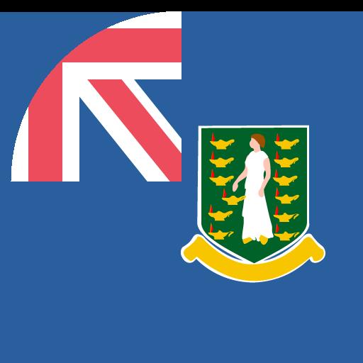 British Virgin Islands Flag Vector Emoji Icon Free Download