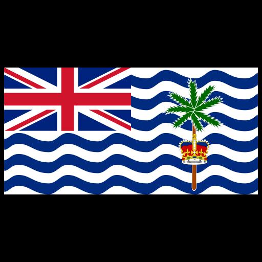 Io British Indian Ocean Territory Flag Icon