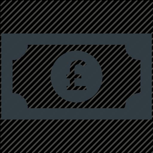 British Pound, Currency, Money, Pound, Pound Note Icon