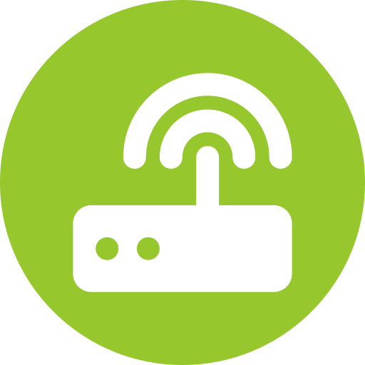 Broadband, Network Hub, Network Port Icon With Png And Vector