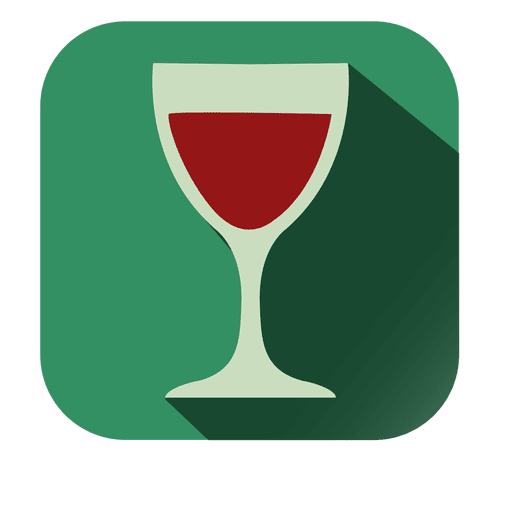 Red Wine Square Icon