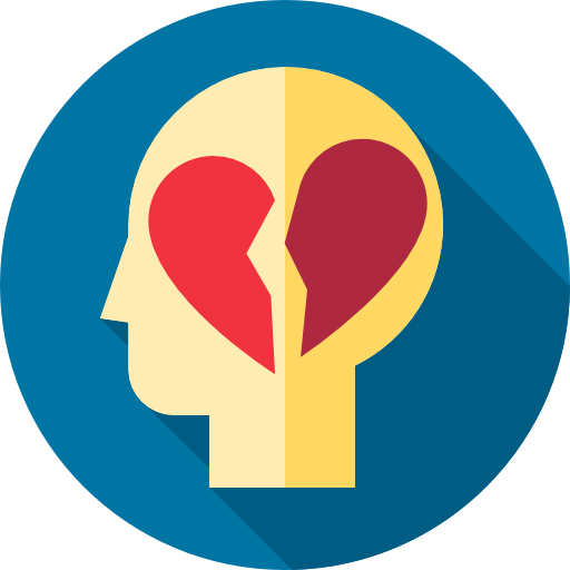 Broken Heart Icon Psychology Freepik