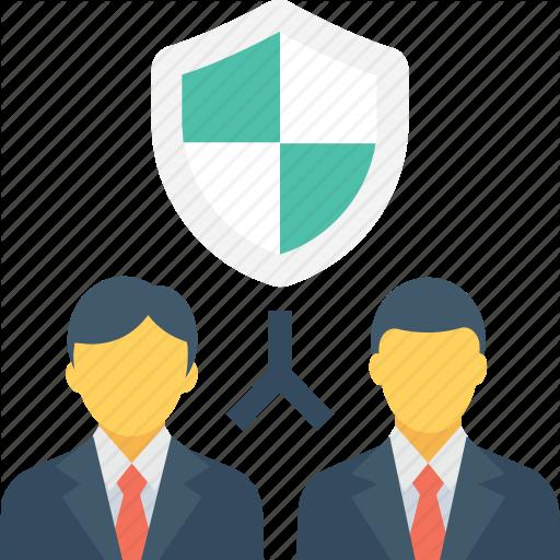 Brokers, Businessmen, Insurance, Insurance Agent, Shield Icon