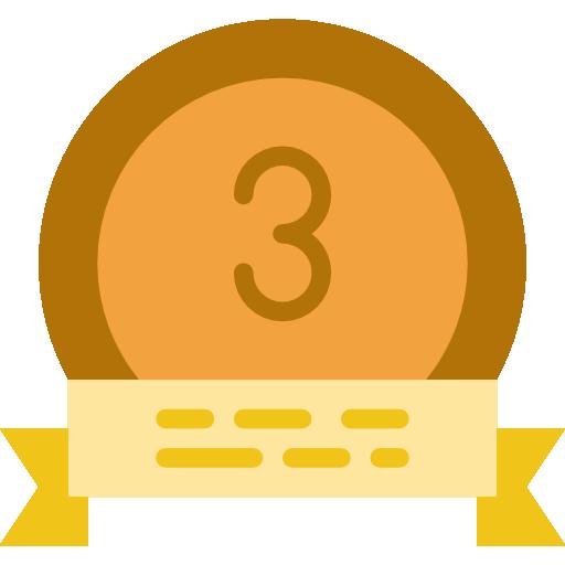 Bronze Medal Icon Awards Smashicons