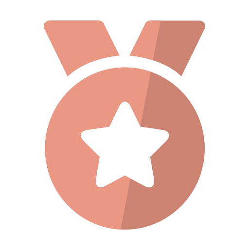 Bronze Medal, Bronze, Guarantee Icon With Png And Vector Format