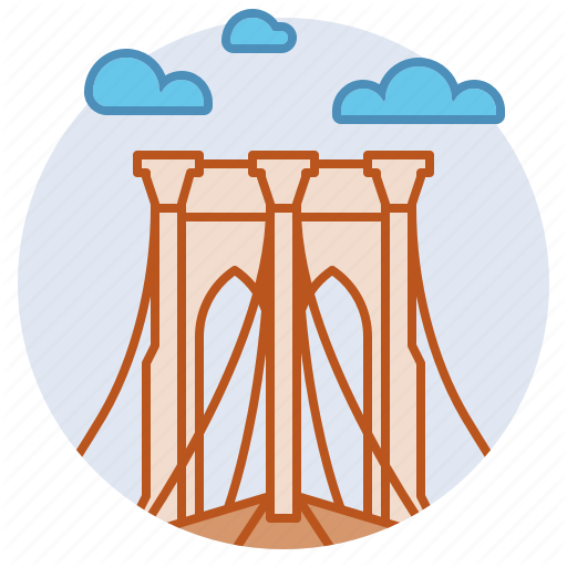 Brooklyn Bridge, Landmark, Manhattan, New York, United States Icon