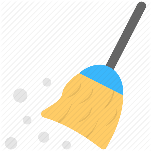 Broom, Cleaning, Dust, Sweeping, Sweeping Floor Icon