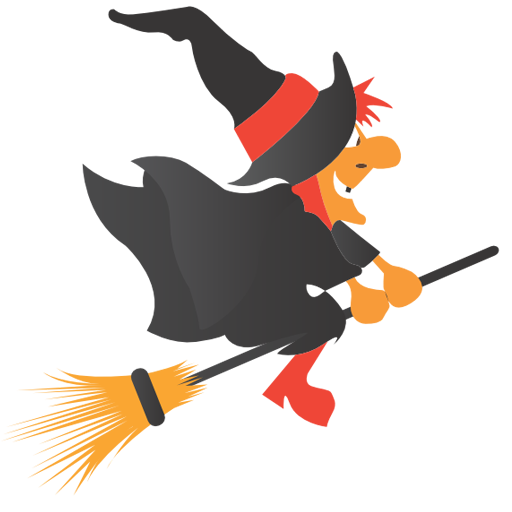 Broom, Halloween, Witch Icon