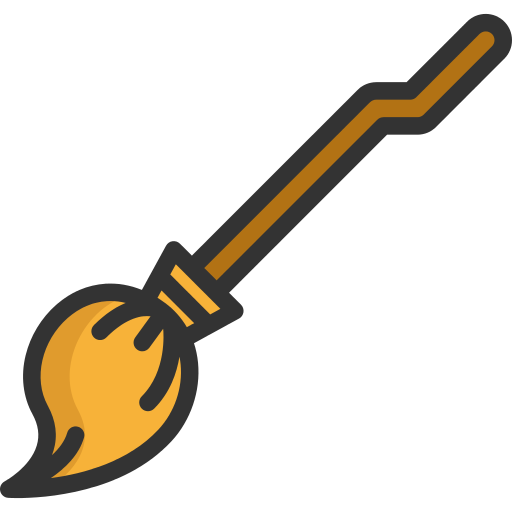 Broom Witch Png Icon