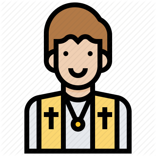 Brother, Missionary, Pastor, Priest, Protestant, Religion, Saint Icon