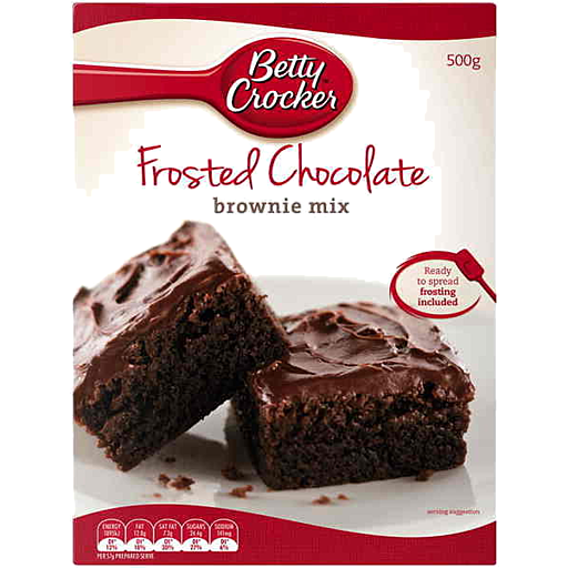 Betty Crocker Frosted Chocolate Brownie Mix