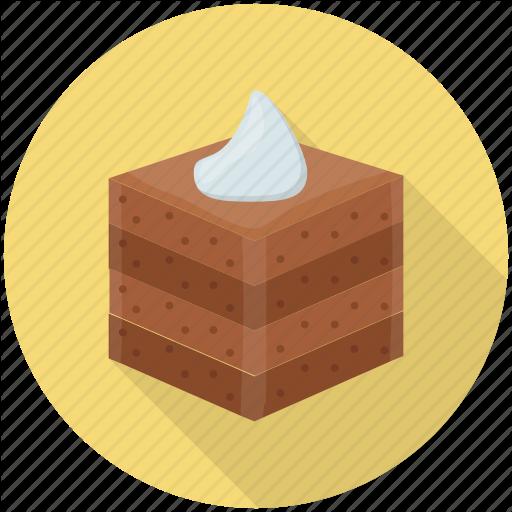 Brownie, Cake Piece Cake Slice, Chocolate Brownie, Dessert Icon