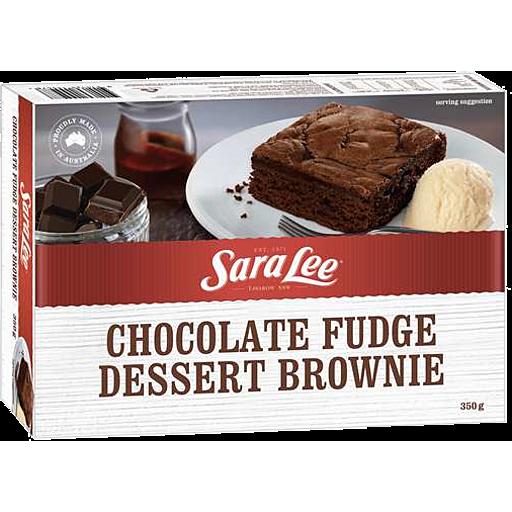 Sara Lee Chocolate Fudge Dessert Brownie