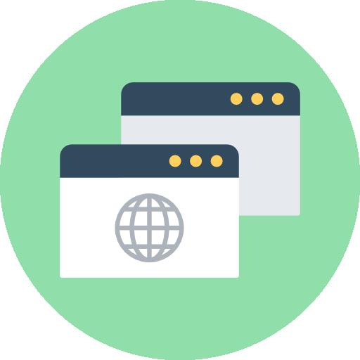 Browser Icon Communication Vectors Market