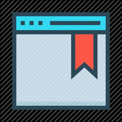 Bookmark, Browser, Internet, Webpage, Window Icon