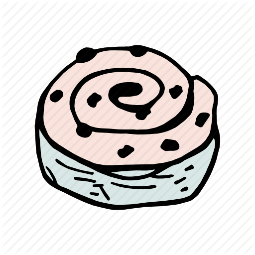 Bakery, Bread, Breakfast, Brunch, Dessert, Food, Roll Icon