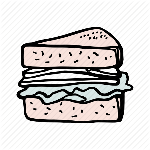 Bakery, Bread, Breakfast, Brunch, Dessert, Food, Sandwich Icon