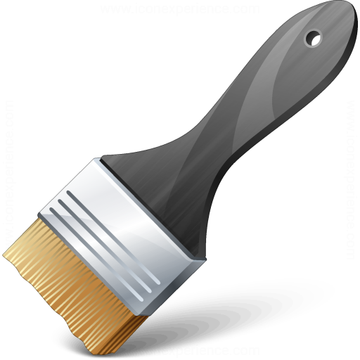Iconexperience V Collection Paint Brush Icon
