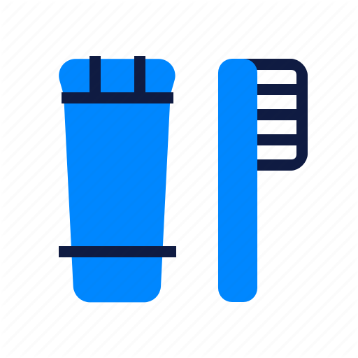 Brush, Holiday, Teeth, Toothbrush, Toothpaste Icon