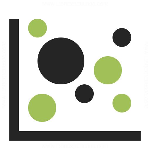 Chart Bubble Icon Iconexperience