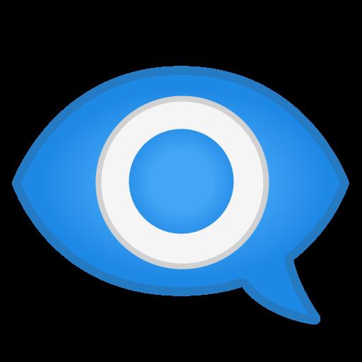 Eye In Speech Bubble Icon Noto Emoji Clothing Objects Iconset