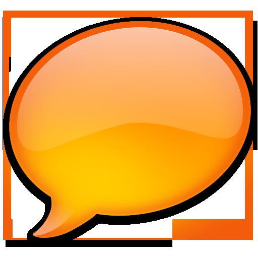 Tangerine Bubble Icon
