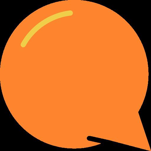 Chat, Dialogue, Bubbles, Bubble, Talk, Orange, Conversation