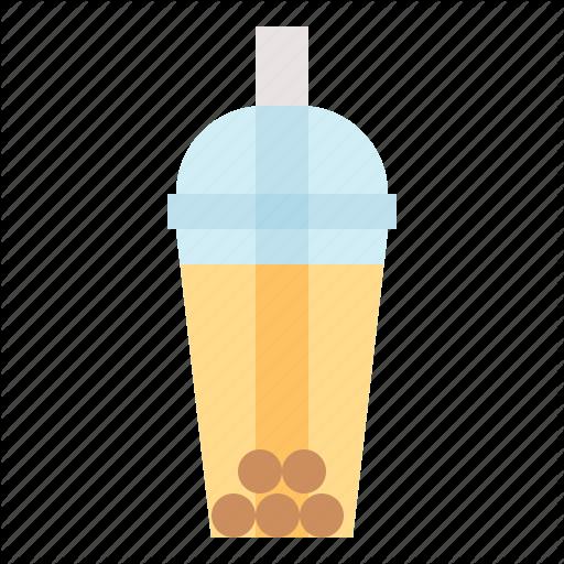 Beverage, Boba, Bubble, Milk, Tea Icon