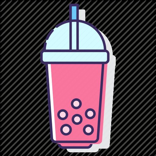 Bubble, Bubble Tea, Drink, Tea Icon