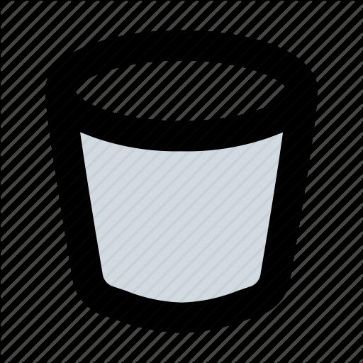 Bucket, Bucket List, Paint, Tool Icon