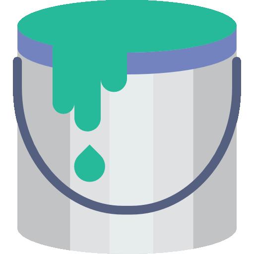 Bucket Icon Designer Set Smashicons