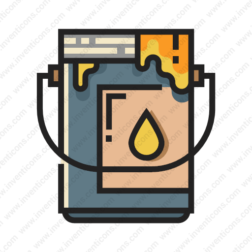 Download Paint,bucket Icon Inventicons