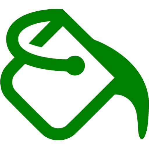 Green Paint Bucket Icon