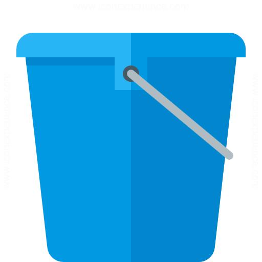 Iconexperience G Collection Bucket Icon
