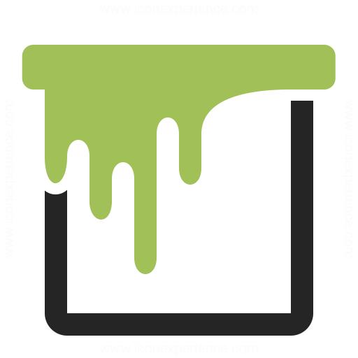 Paint Bucket Icon Iconexperience