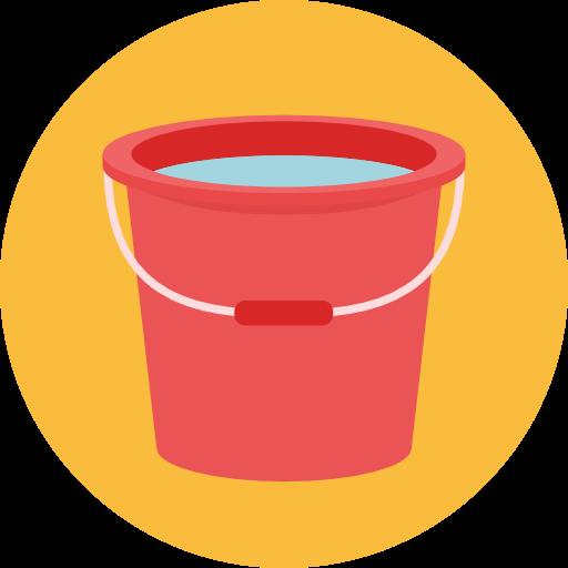 Miscellaneous, Bucket, Water, Wash, Washing Icon