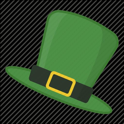 Green Hat, Hat, Hat With Buckle, Irish, Leprechaun, Saint