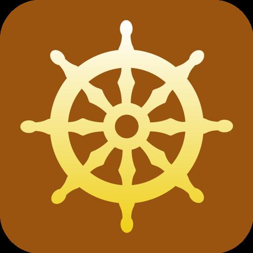 Buddhism Wheel Of Dharma Icon Religious Symbol Iconset Designbolts