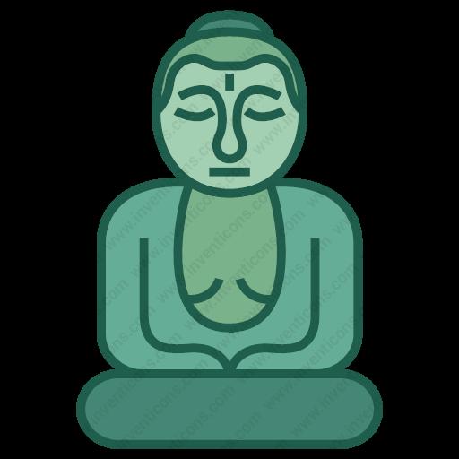 Download Great,buddha Icon Inventicons