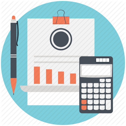 Accounting, Bookkeeping, Budget, Budget Planning, Payroll Icon