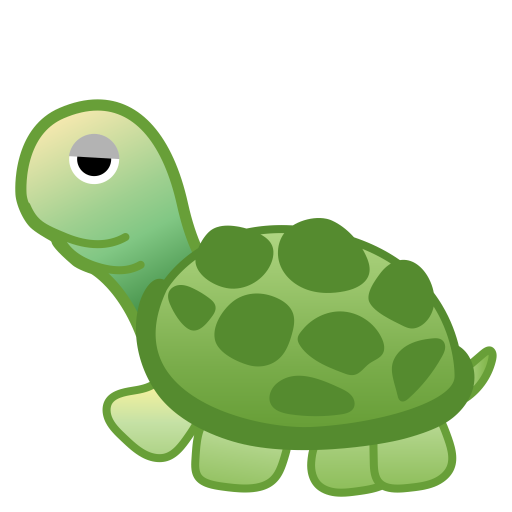 Turtle Icon Noto Emoji Animals Nature Iconset Google