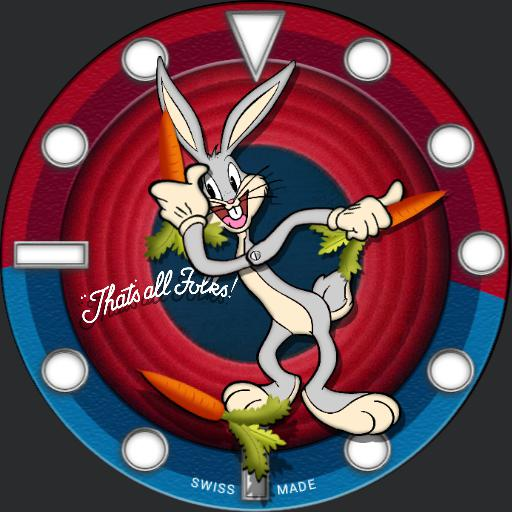 Cartoon Bugs Bunny Watchfaces For Smart Watches
