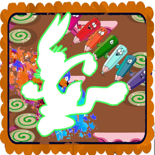 Coloring Book For Kids Bugs Bunny App Edition