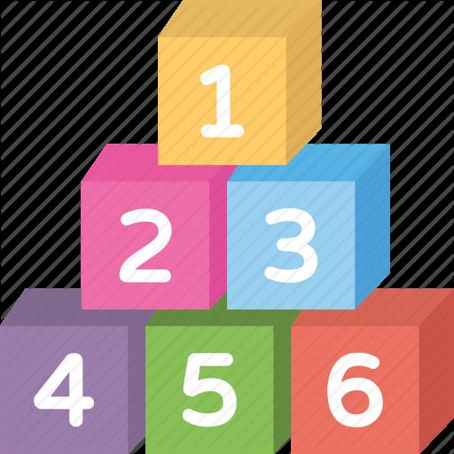 Block Toy, Building Blocks, Kids Number Toy, Number Blocks, Wooden