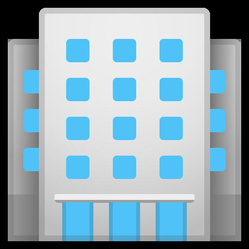 Office Building Icon Noto Emoji Travel Places Iconset Google