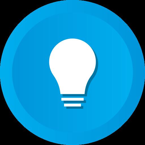 Bright, Idea, Lightbulb, Solution, Bulb Icon Free Of Ios Web