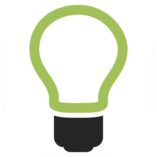 Lightbulb Off Icon Iconexperience